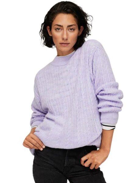 Mango - Lila ženski džemper