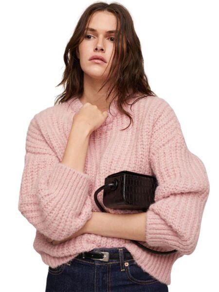 Mango - Oversized ženski džemper