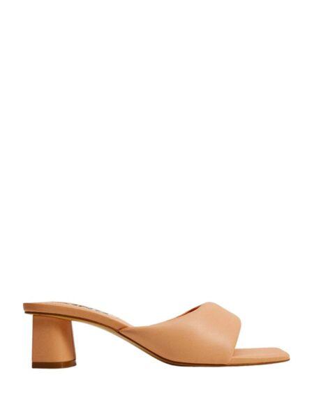Mango - Kockaste ženske papuče