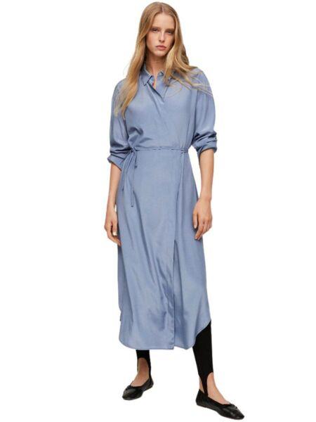 Mango - Dugačka plava haljina