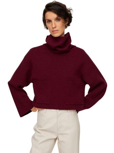 Mango - Bordo ženski džemper