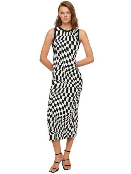 Mango - Midi haljina bez rukava