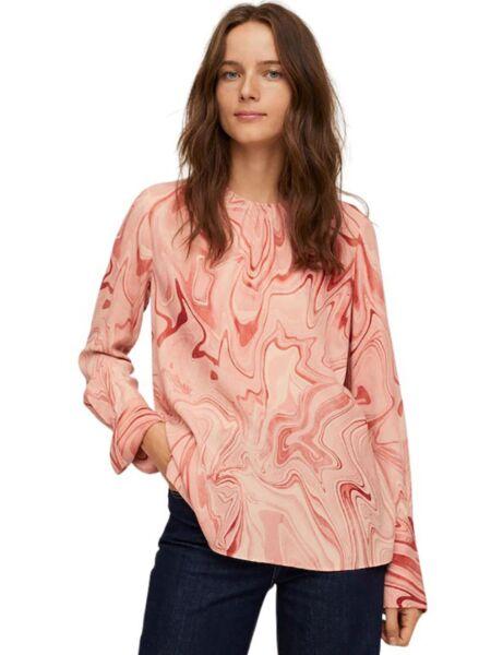 Mango - Roze ženska bluza