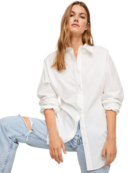 Mango - Pamučna ženska košulja