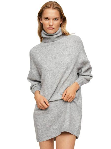 Mango - Mini siva haljina