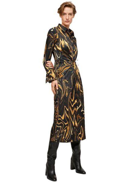 Mango - Midi košulja-haljina