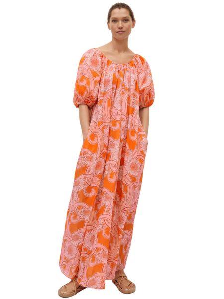 Mango - Maxi haljina sa puf rukavima