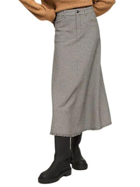 Mango - Karirana midi suknja