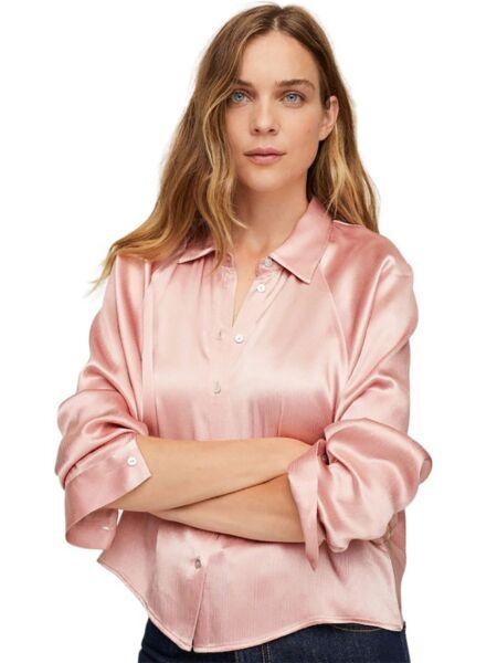 Mango - Satenska ženska košulja
