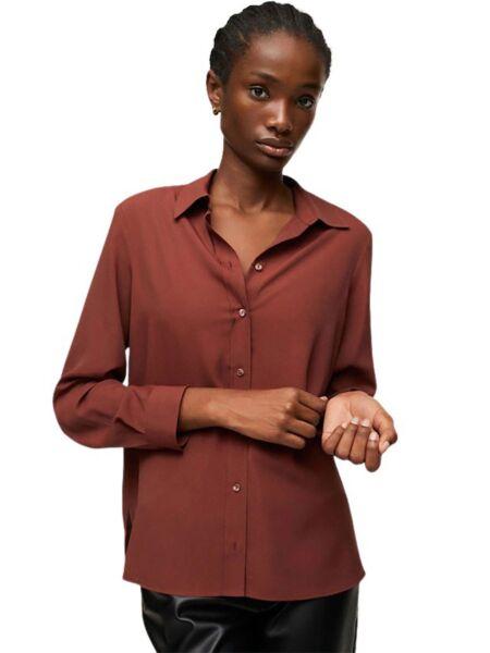 Mango - Bordo ženska košulja