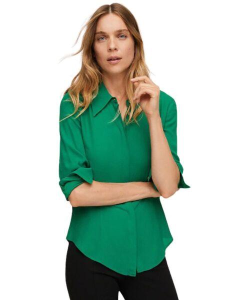 Mango - Zelena ženska košulja
