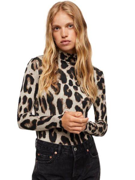 Mango - Leopard print ženska rolka
