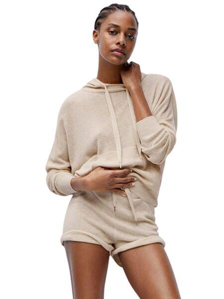 Ženski džemper sa kapuljačom - Mango