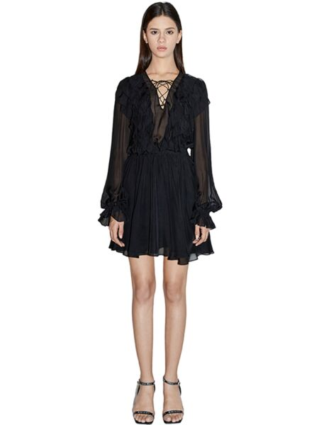 Elegantna crna haljina - Miss Sixty