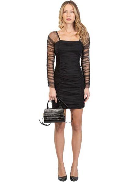Mini crna haljina - Miss Sixty