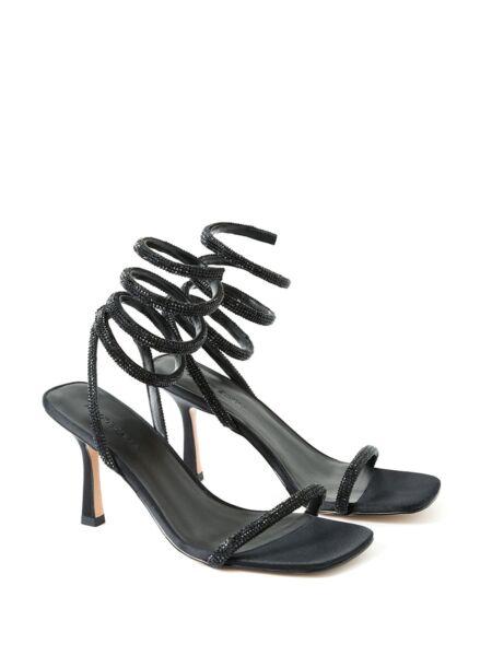 Kockaste sandale sa štiklom - Miss Sixty