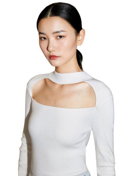 Bijeli ženski džemper - Miss Sixty