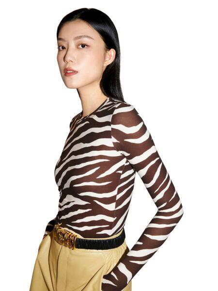 Zebrasta ženska majica - Miss Sixty