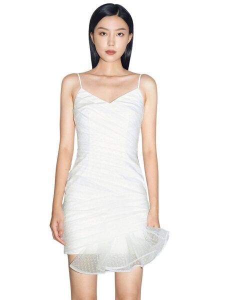 Elegantna bijela haljina - Miss Sixty