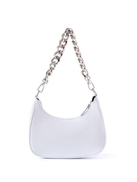 Kožna bijela torbica - Miss Sixty