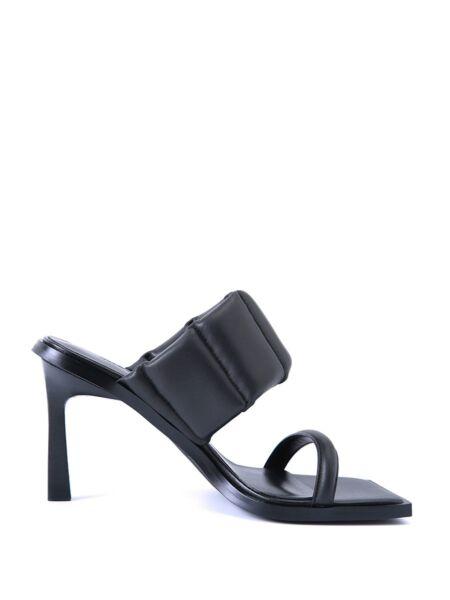 Kožne kockaste papuče - Miss Sixty
