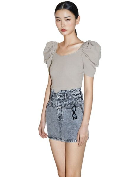 Bluza s kratkim puf rukavima - Miss Sixty