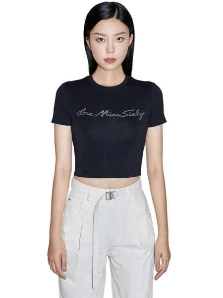 Ženska majica sa cirkonima - Miss Sixty