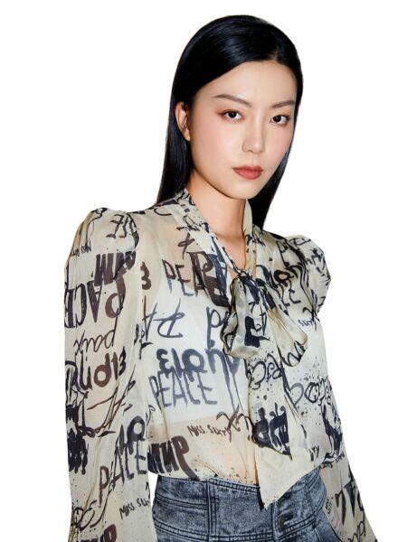 Svilena ženska košulja - Miss Sixty