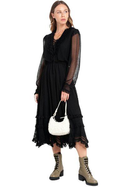 Miss Sixty - Midi haljina sa karnerima