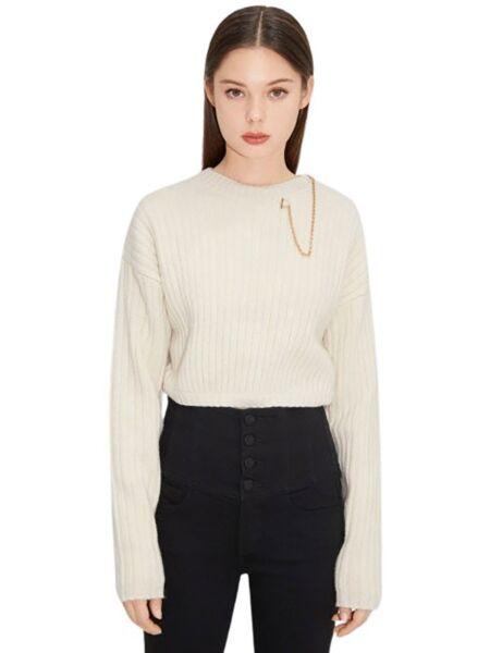 Miss Sixty - Ženski džemper s lancem