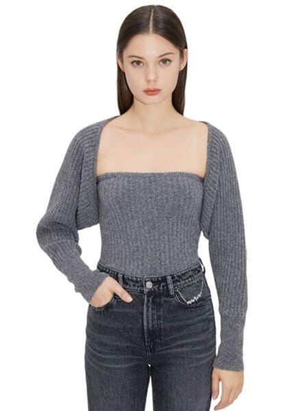 Miss Sixty - Sivi ženski džemper