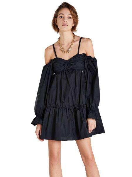Mini crna haljina - Patrizia Pepe