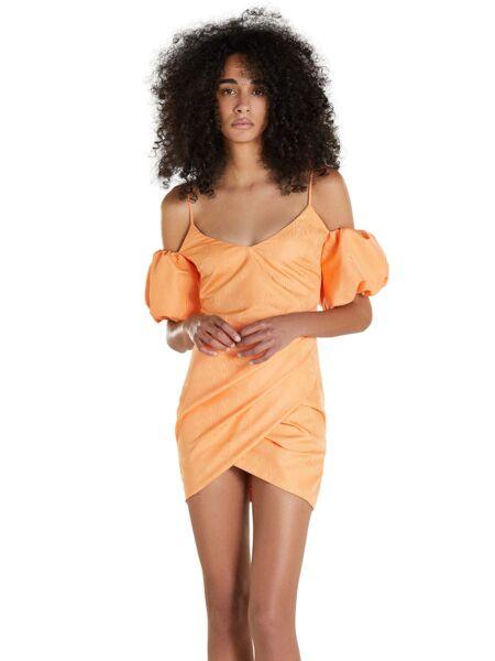 Narančasta mini haljina - Patrizia Pepe