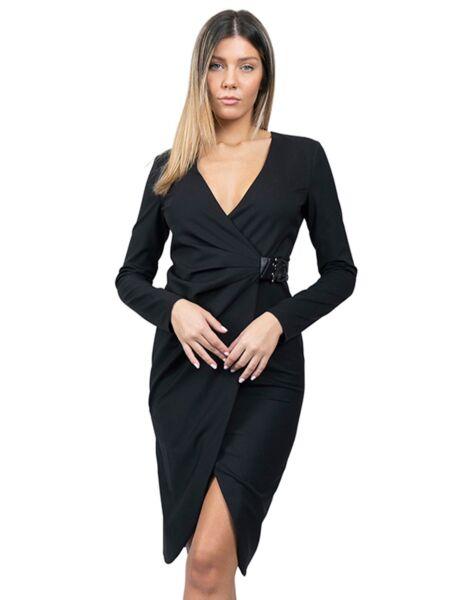 Patrizia Pepe - Crna mini haljina