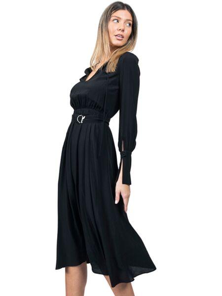 Patrizia Pepe - Lepršava midi haljina