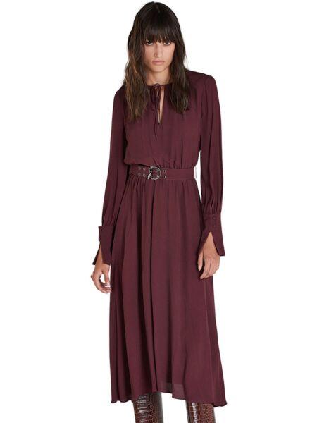 Patrizia Pepe - Bordo haljina dugih rukava