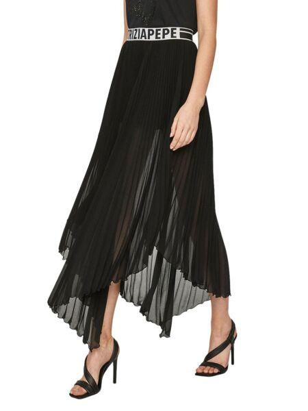 Crna suknja s faldicama - Patrizia Pepe