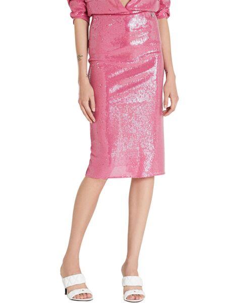 Šljokičasta midi suknja - Patrizia Pepe