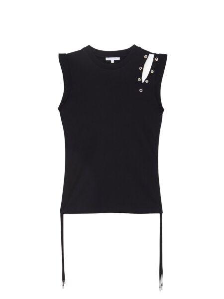 Crna ženska majica - Patrizia Pepe