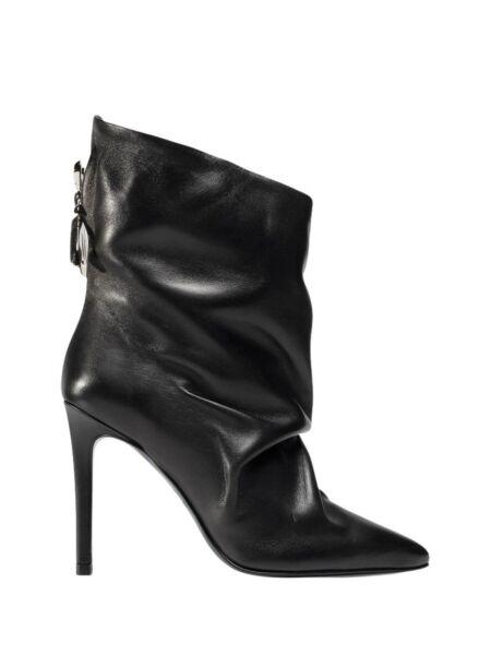 Kožne ženske čizme - Patrizia Pepe