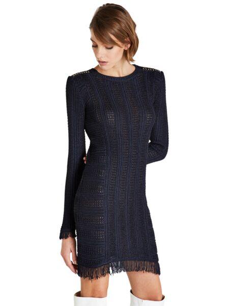 Mini tamnoplava haljina - Patrizia Pepe