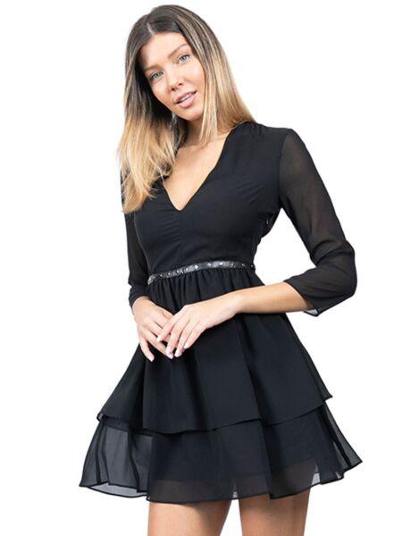 Patrizia Pepe - Lepršava mini haljina