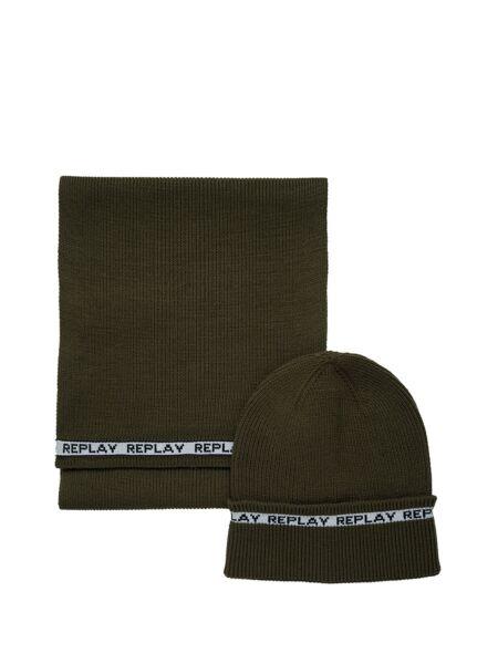 Replay - Muški šal i kapa u setu