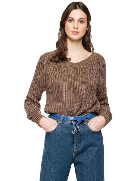 Ženski džemper od trikotaže - Replay