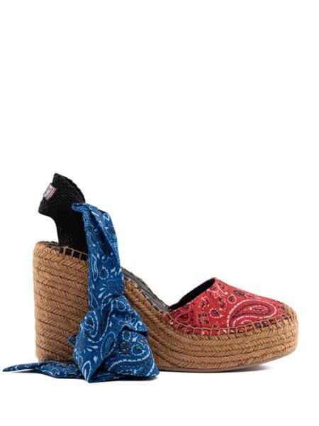 Šarene sandale sa platformom - Replay