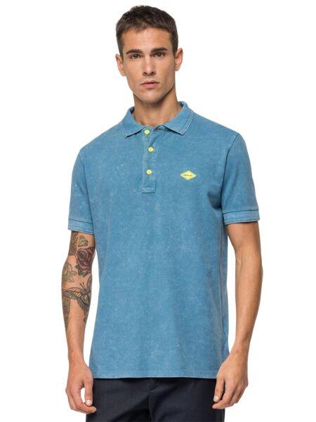 Plava muška polo majica - Replay