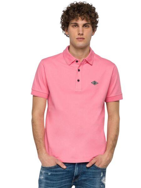 Pink muška polo majica - Replay