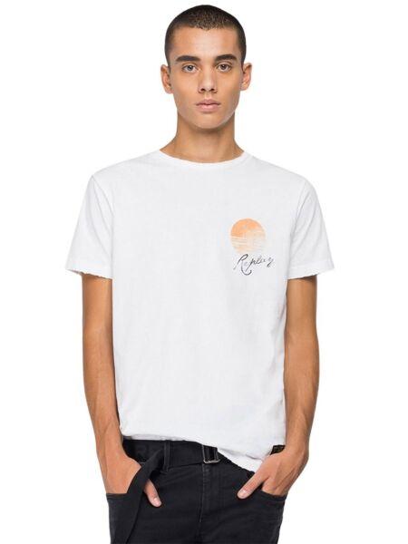 Muška bijela majica - Replay