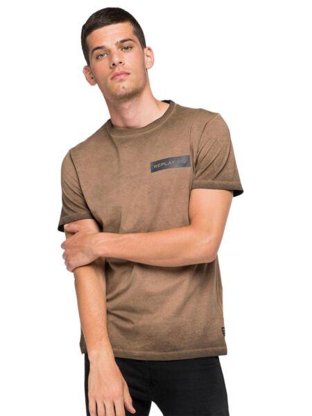 Replay - Braon muška majica