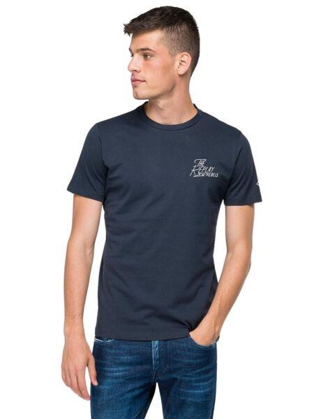 Replay - Tamnoplava muška majica